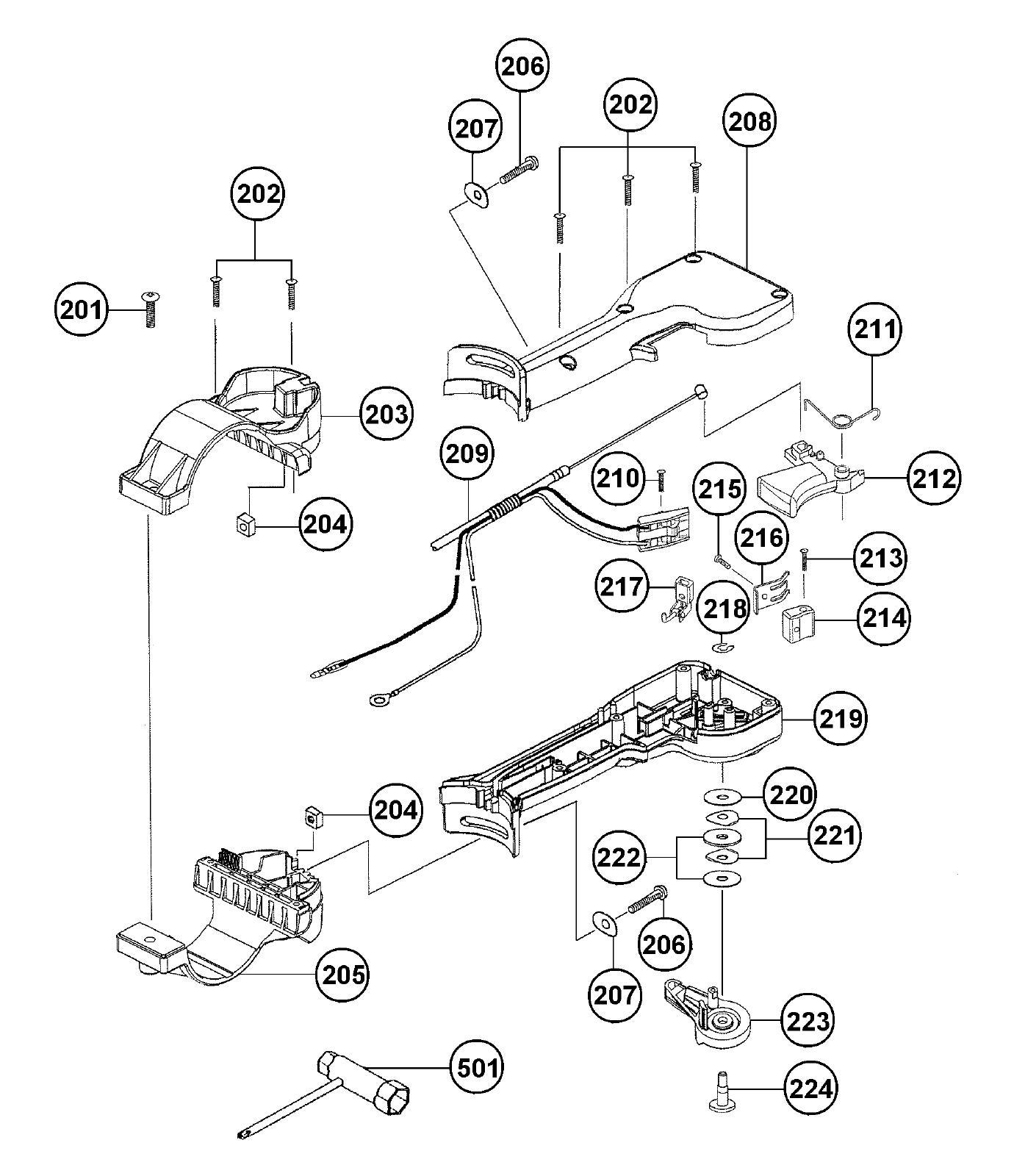 Hitachi 6697577 M6X25 Machine Screw-W//SW